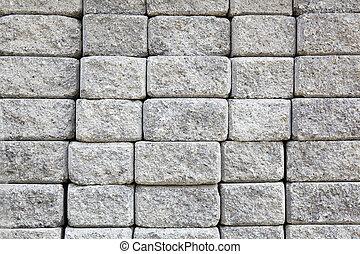 壁, 灰色, ペーバー