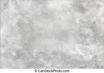 壁, 白い背景
