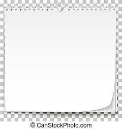 壁, 白, カレンダー, テンプレート