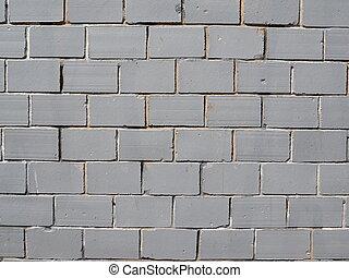 壁, 白, brick., 背景