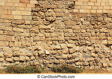 壁, 石のきめ, maritim, caesarea