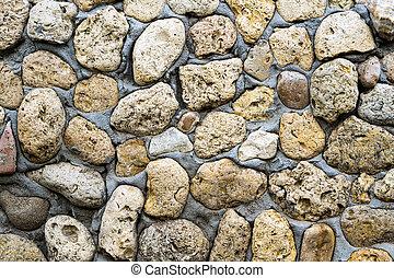 壁, 石, セメント, coquina, 手ざわり