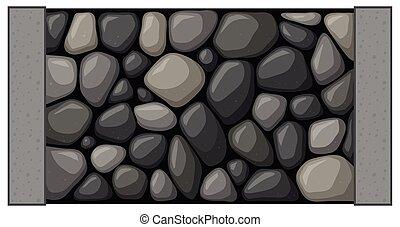壁, 石, デザイン, seamless