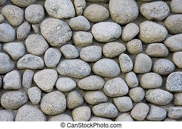 壁, 石, 川, 手ざわり