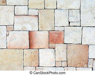 壁, 石, 01