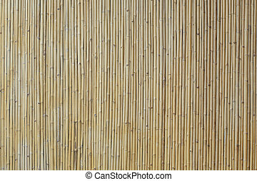 壁, 竹, 手ざわり, 背景