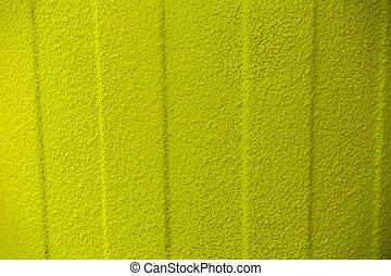 壁, 緑の背景