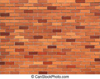 壁, 背景, れんが