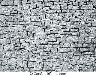 壁, 花こう岩, 背景, 手ざわり