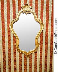 壁, 華やか, 鏡