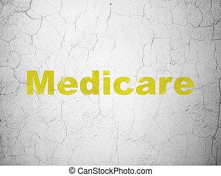 壁, 薬, 医療保障, concept:, 背景