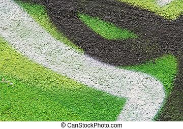 壁, 酸, 緑