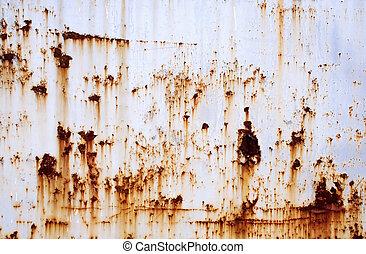 壁, 錆ついた