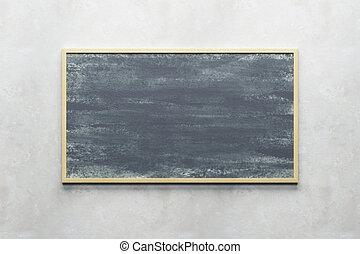 壁, 黒板, ブランク