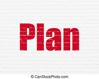 壁, concept:, 背景, 計画, ビジネス