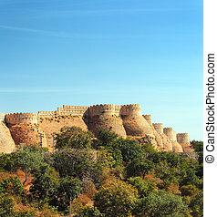 壁,  kumbhalgarh, 城砦