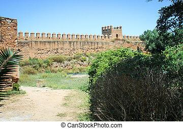 壁, necropolis