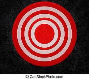 壁, targeton, 赤い背景
