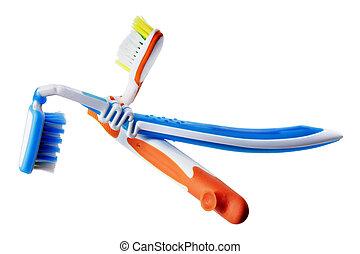 壊される, 歯ブラシ