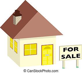 売り物のハウス