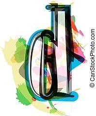 壷, -, 芸術的, 手紙, d