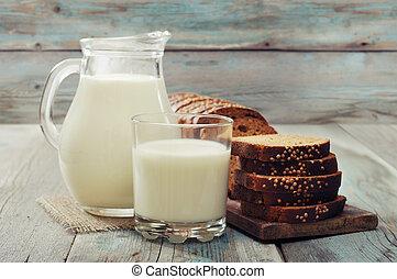 壺, 牛奶