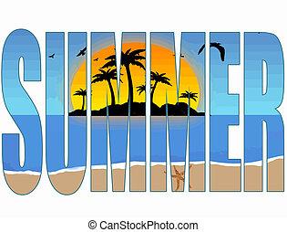 夏天, 标题