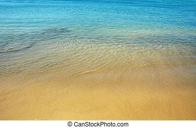 夏天, 海灘