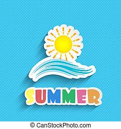 夏天, 背景