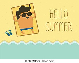 夏, こんにちは
