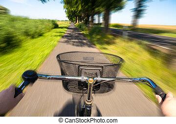 夏, サイクリング
