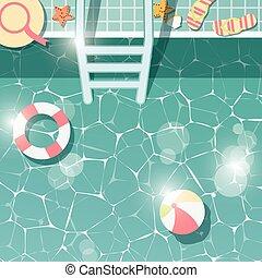 夏, 側, 休暇, 項目, 上, 水, 時間, 光景, 休日, 浜, ゆとり, プール, 水泳