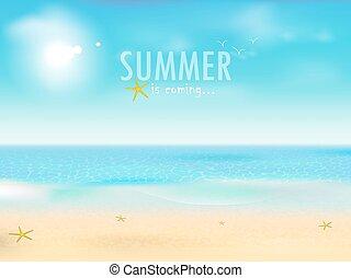 夏, 到来