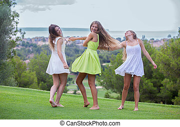 夏, 十代の若者たち, 幸せ