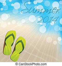夏, 失敗, デザイン, とんぼ返り, 背景