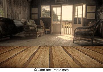 夏, 床, 木製の家, 効果, ノスタルジック, 白熱, レトロ, 太陽, 板, ボート