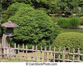 夏, 日本の庭