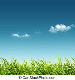 夏, 春, 抽象的, 背景, デザイン, あなたの