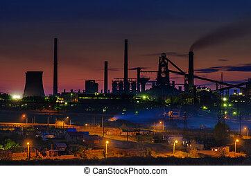 夏, 植物, 時間, 産業, 夜