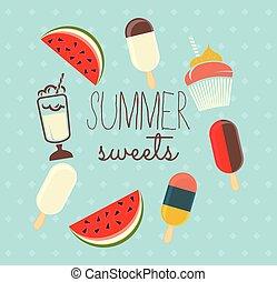 夏, 甘いもの
