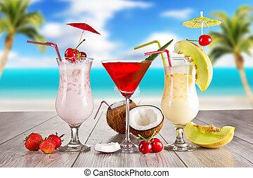夏, 飲み物