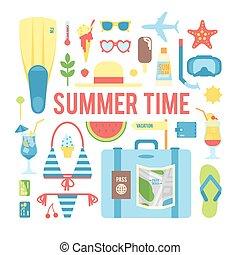 夏, time.