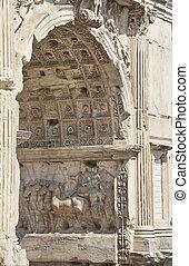 夏, tito, ∥ディ∥, 写真, ローマ, イタリア, arco