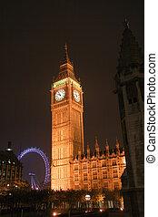 夕方, clocktower