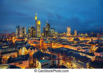 夕闇, frankfurt