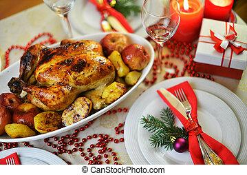 夕食, クリスマス