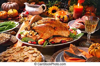 夕食, トルコ, 感謝祭
