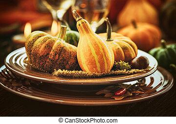 夕食, 感謝祭