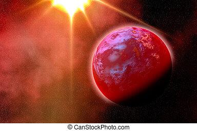 外国人, 惑星, up-close