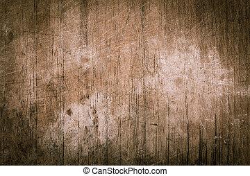 外気に当って変化した, かきなさい, 手ざわり, 木, 板, 背景, 型